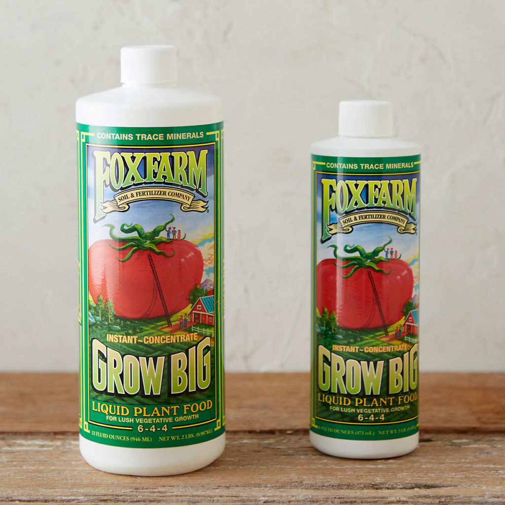 FoxFarm Grow Big Liquid Concentrate $14.00