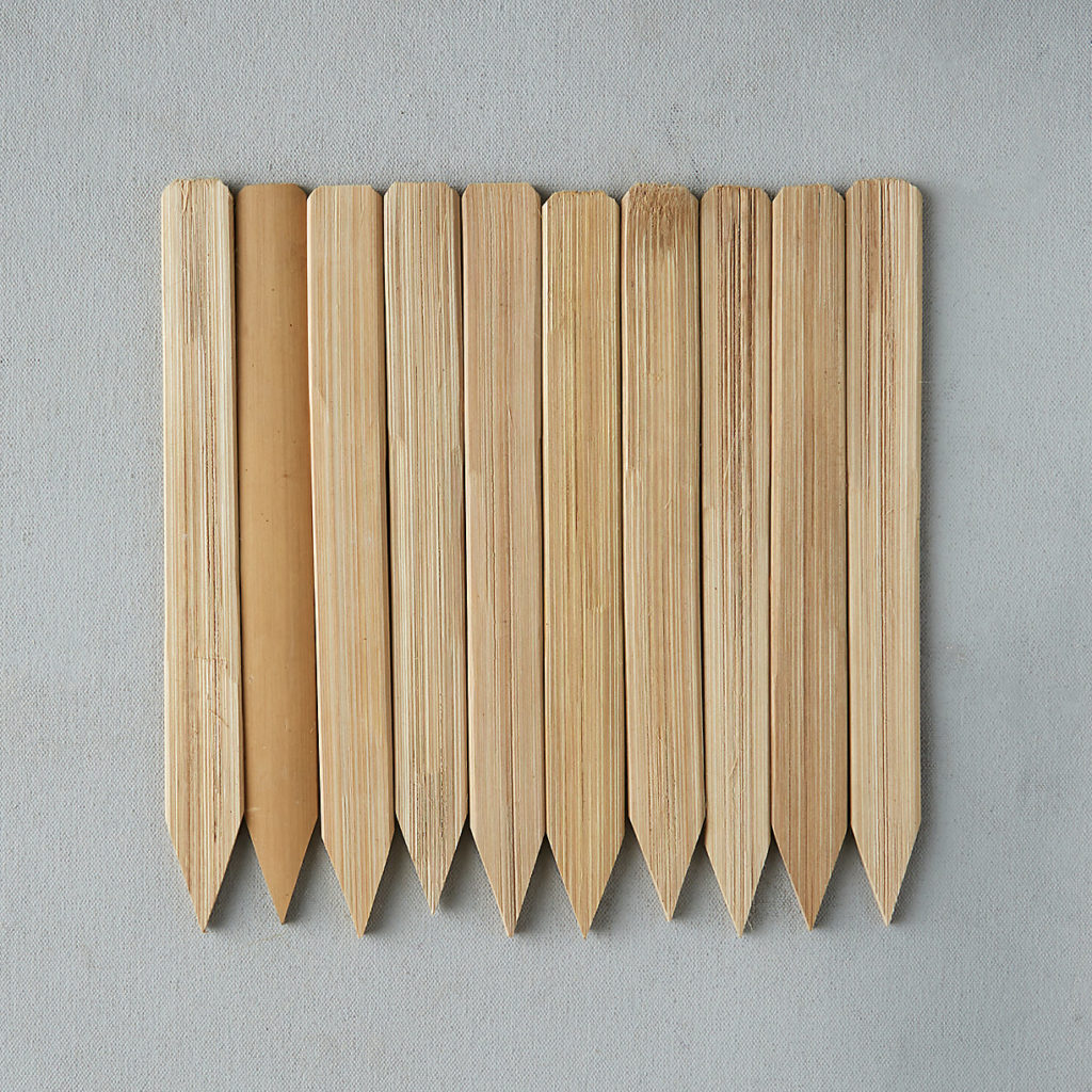 Bamboo Plant Markers, Set of 10 $8.00–$12.00