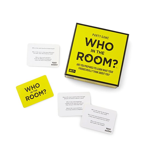 Who in the Room? Party Game $20.00