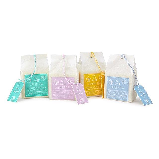 Tea Bag Soap Set $20.00
