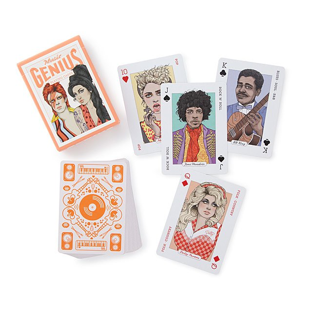 Music Playing Cards $10.00