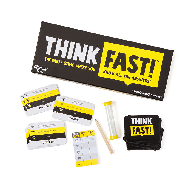 Think Fast Guessing Game $22.00