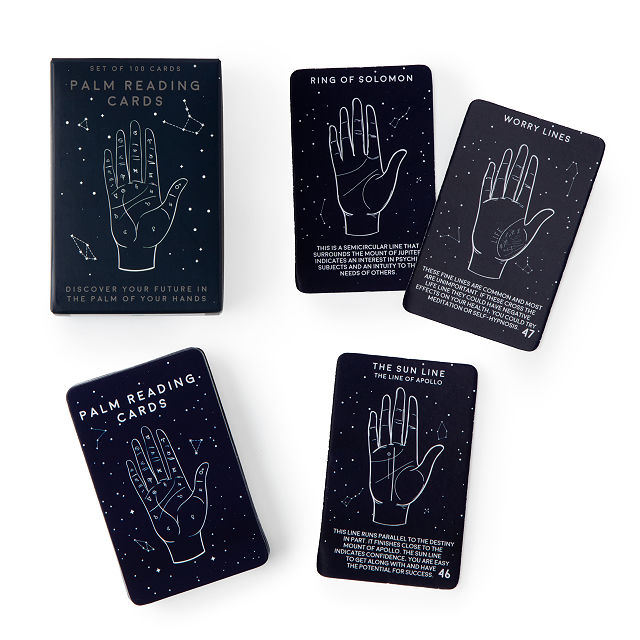 Palm Reading Cards $8.00
