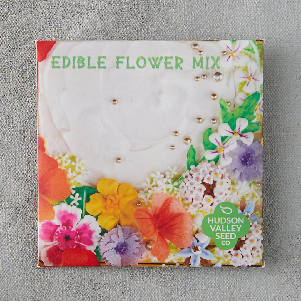 Edible Flower Seed Mix $3.95