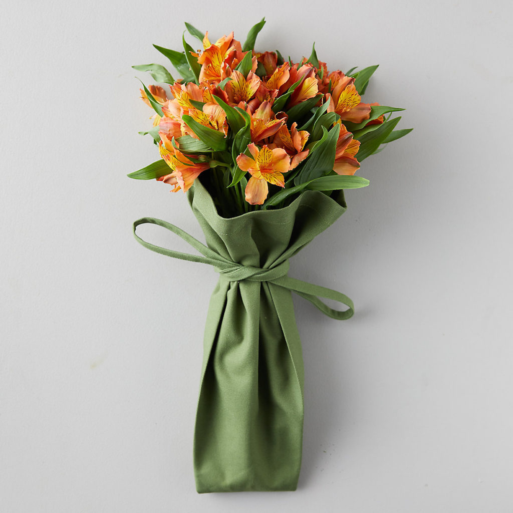 Reusable Cotton Flower Tote $48.00