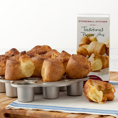 Petite Popover Pan with Popover Mix $31.95