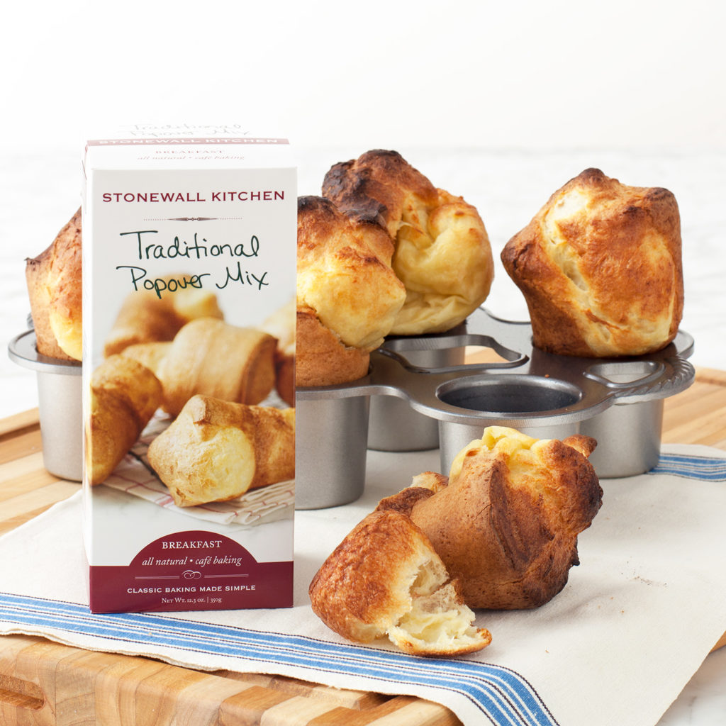 Full Size Popover Pan with Popover Mix $31.95