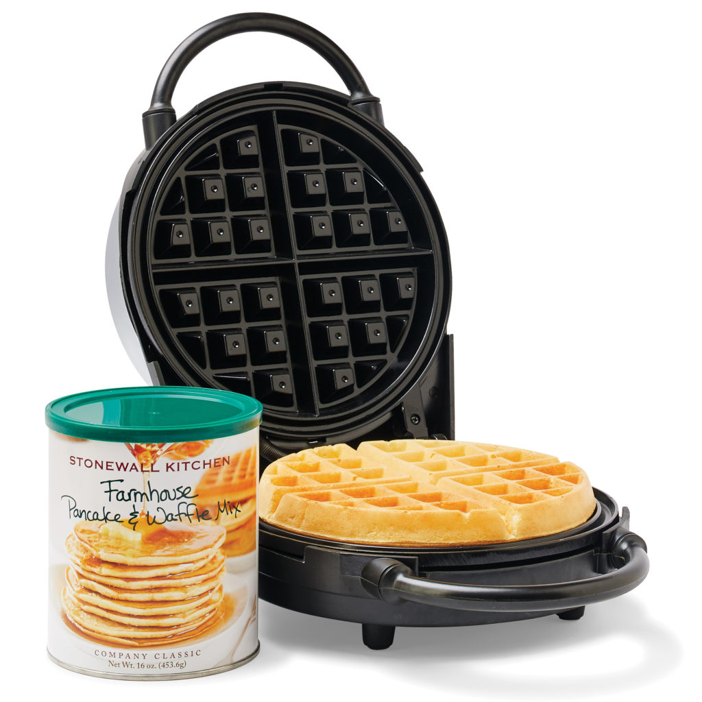 Our Waffle Maker & Mix $49.95