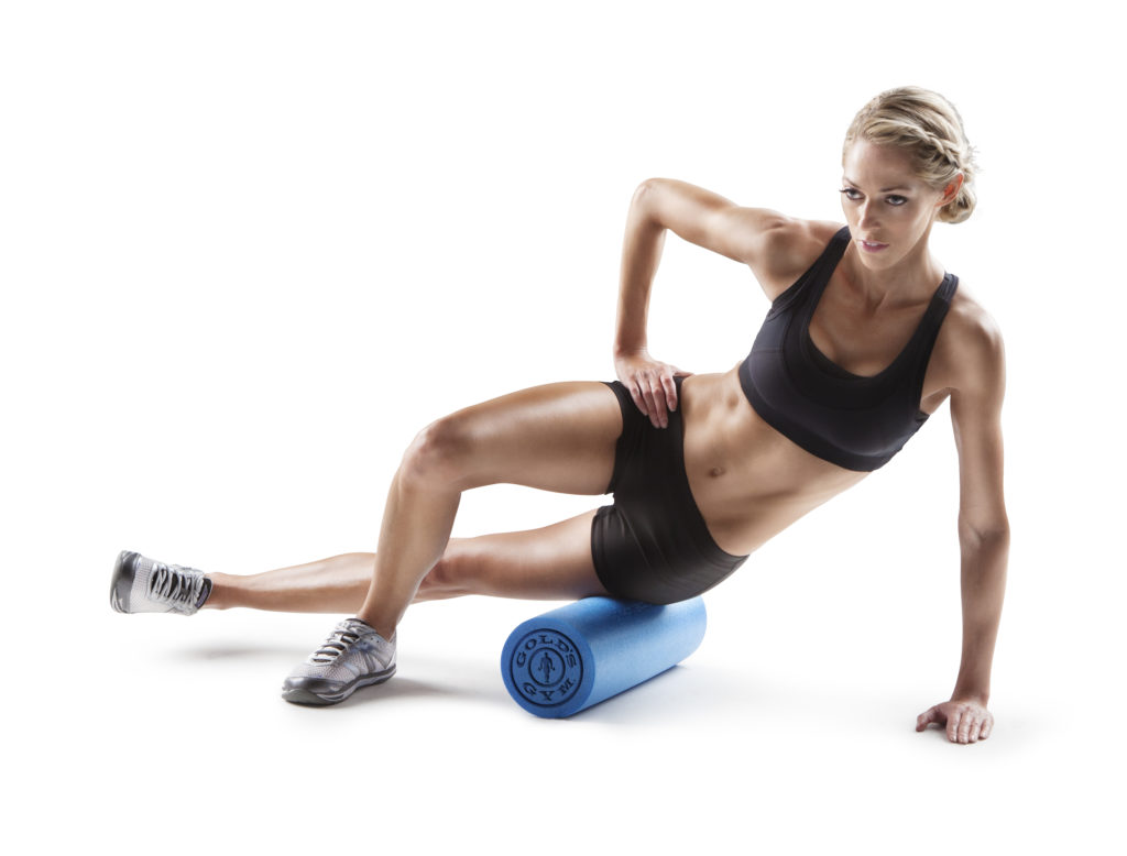 "Gold's Gym High Density 18 and 30"" Foam Rollers $10.97-$14.77"