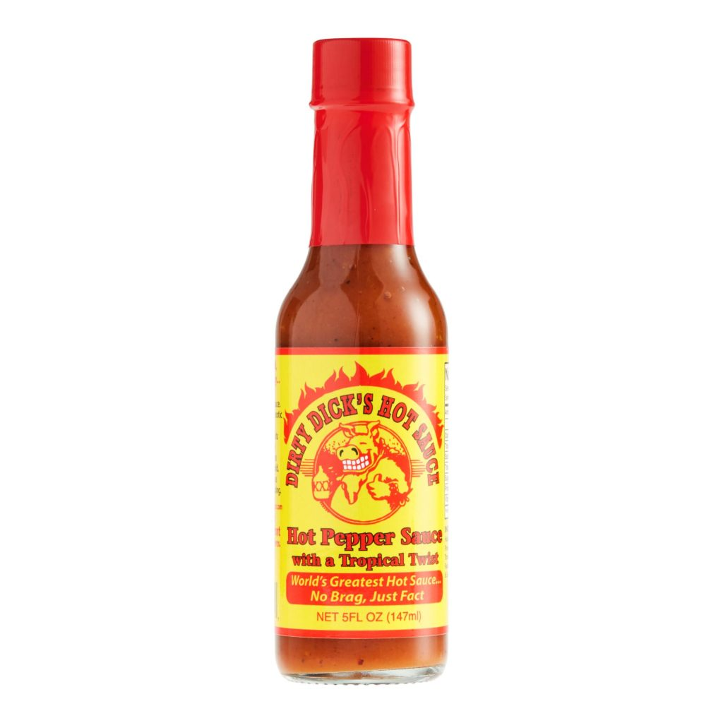 Dirty Dick's Tropical Hot Pepper Sauce $6.99