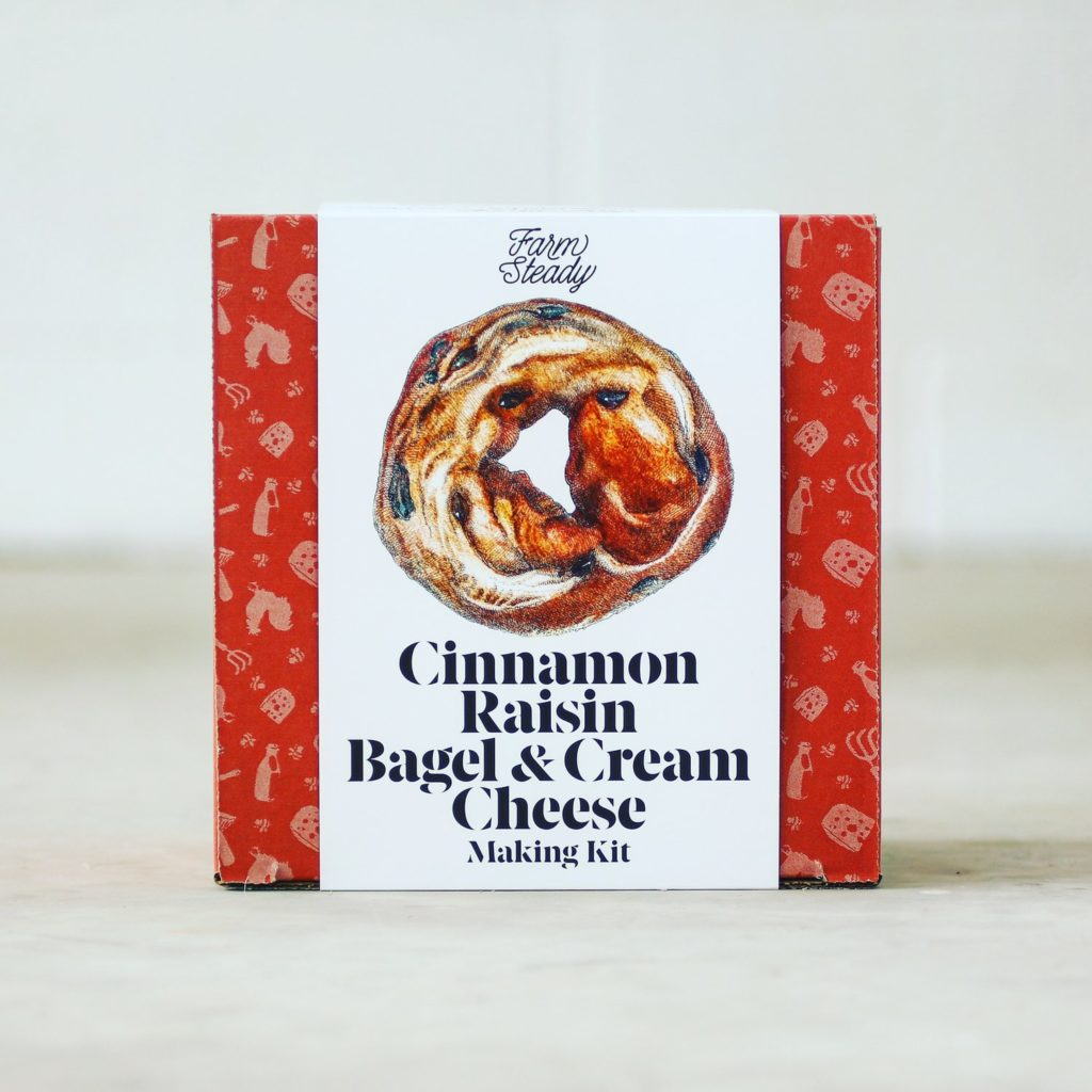Cinnamon Raisin Bagel & Cream Cheese Kit $29.95