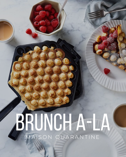 MISSING BRUNCH WITH THE CREW? TURN YOUR HOME INTO YOUR FAVORITE SUNDAY BRUNCH SPOT