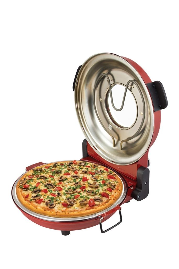 Kalorik Red High Heat Stone Pizza Oven $99.97