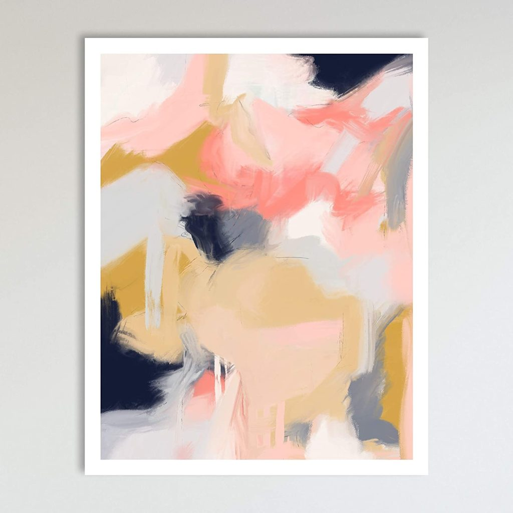 Morning Blossoms, Minimalist Abstract Art $14.99