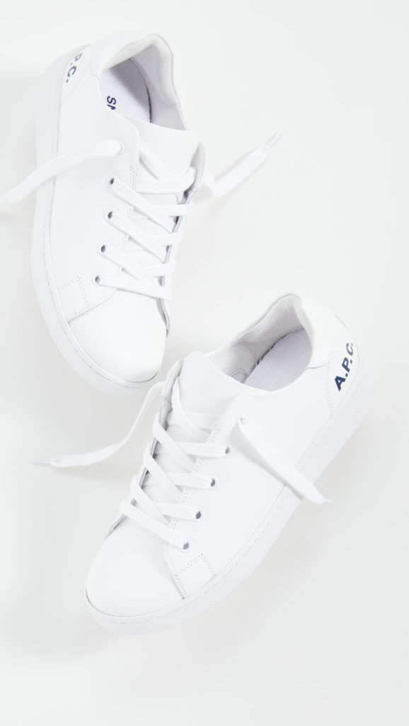 A.P.C. Low Top Sneakers $325.00