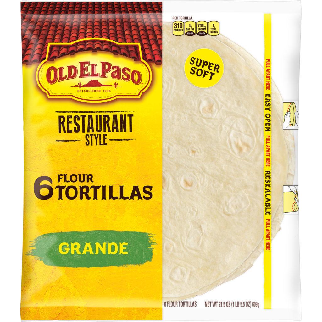 2 Pack) Old El Paso Restaurant Grande Shells 6 Count, 21.5 oz $5.30-$7.80