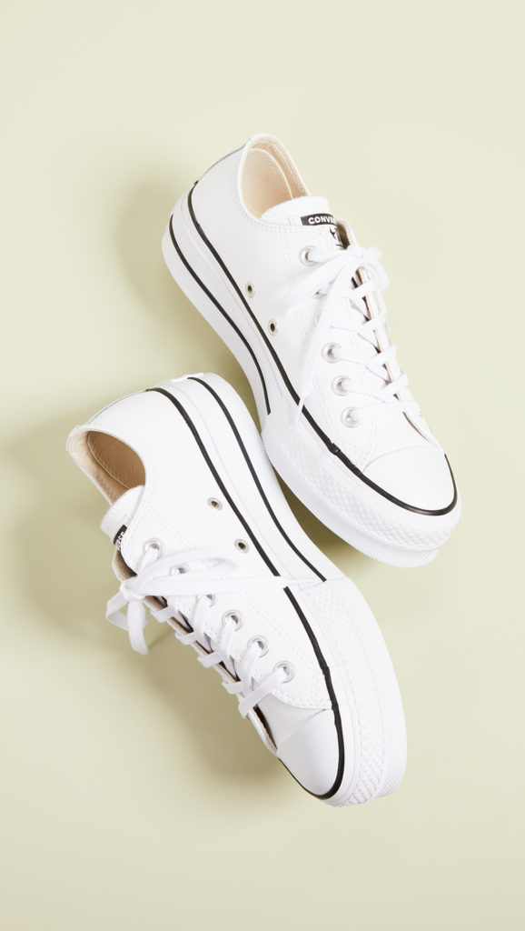 Converse Chuck All Star Lift Clean Ox Sneakers $70.00