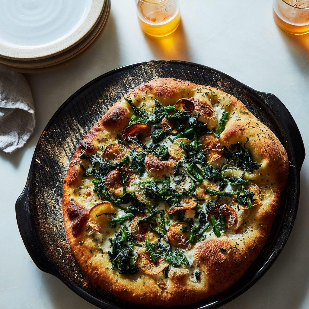 Emile Henry Ceramic Pizza Stone $60