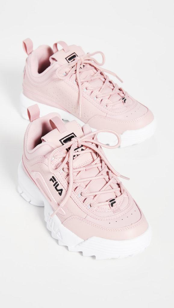 Fila Disruptor II 3D Embroider Sneakers $75.00