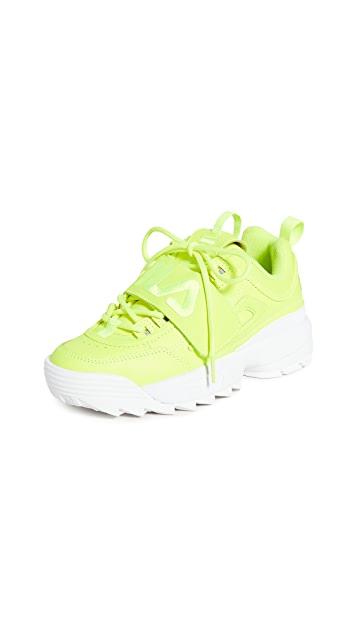 Fila Disruptor II Applique Sneakers $75.00