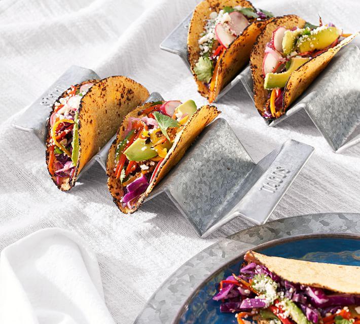 Galvanized Taco Holder $6.50