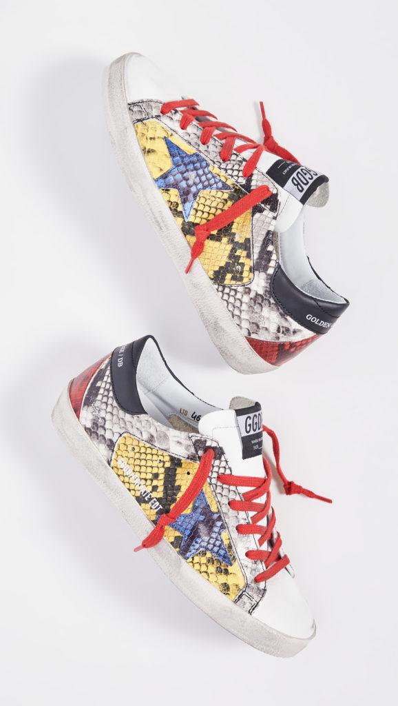 Golden Goose Superstar Sneakers $600.00