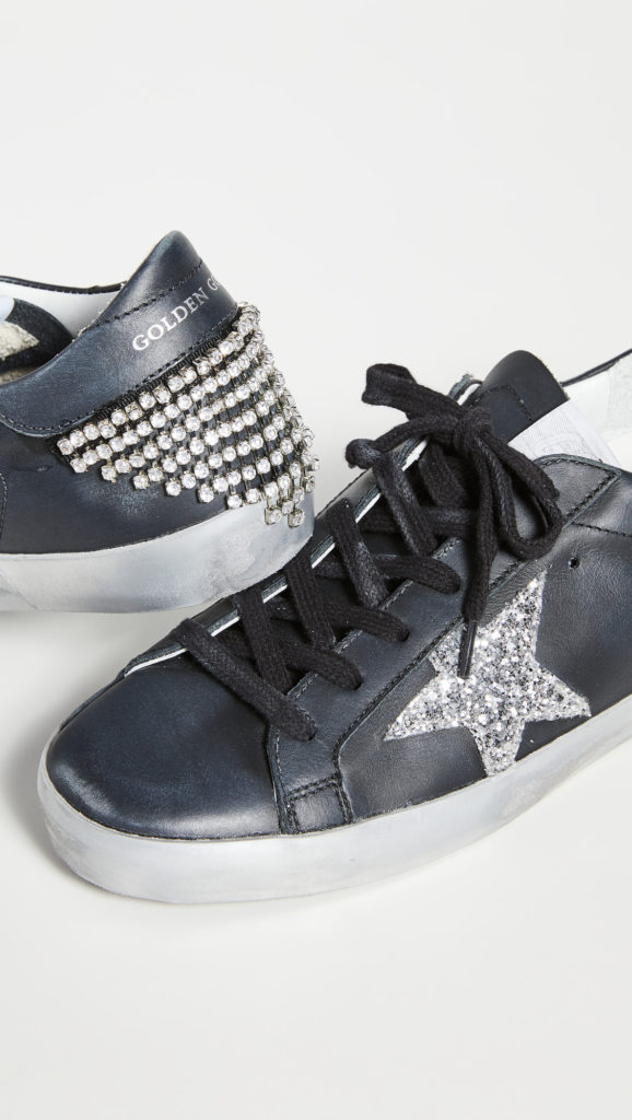 Golden Goose Superstar Sneakers with Chain $600.00
