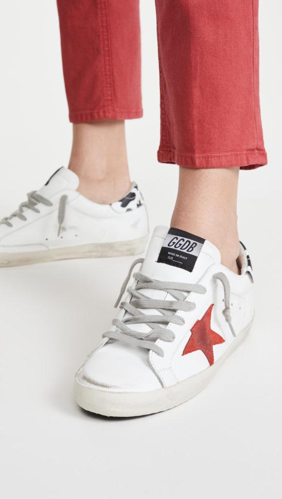 Golden Goose Superstar Sneakers $560.00