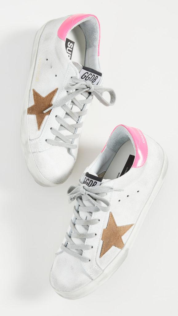 Golden Goose Superstar Sneakers $495.00