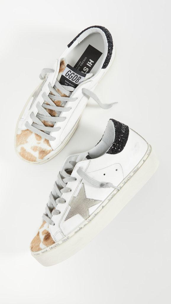 Golden Goose Hi Star Sneakers $560.00