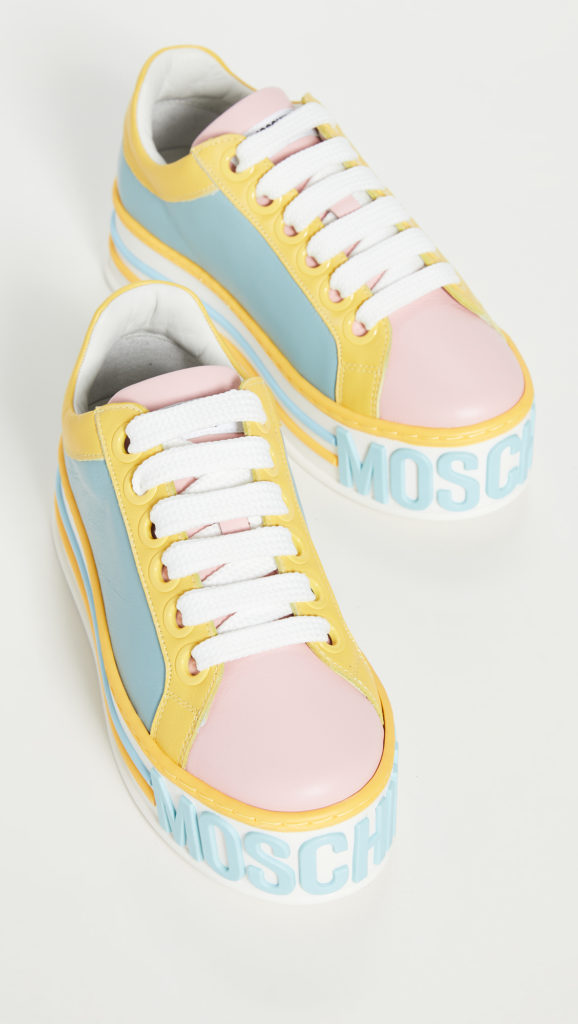 Moschino Platform W Sneakers $450.00