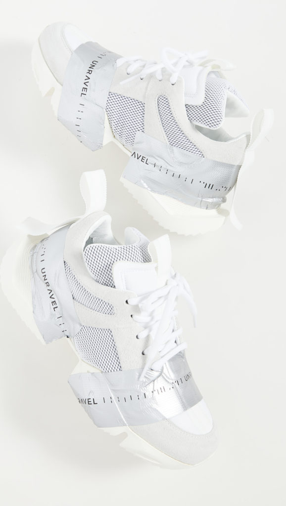 Unravel Project Tape Low Sneakers $654.00