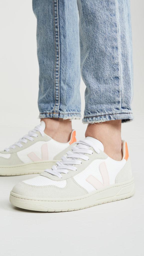 Veja V-10 Sneakers $140.00