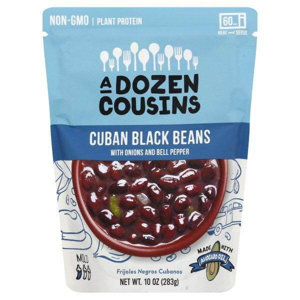 A Dozen Cousins RTE Cuban Black Beans 6 ct. $19.99