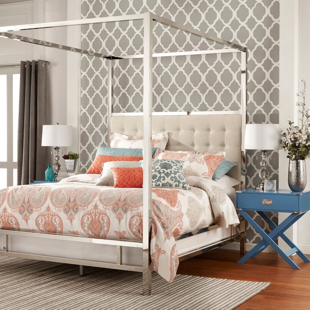 HomeVance Barton Hills Canopy Bed $972.39