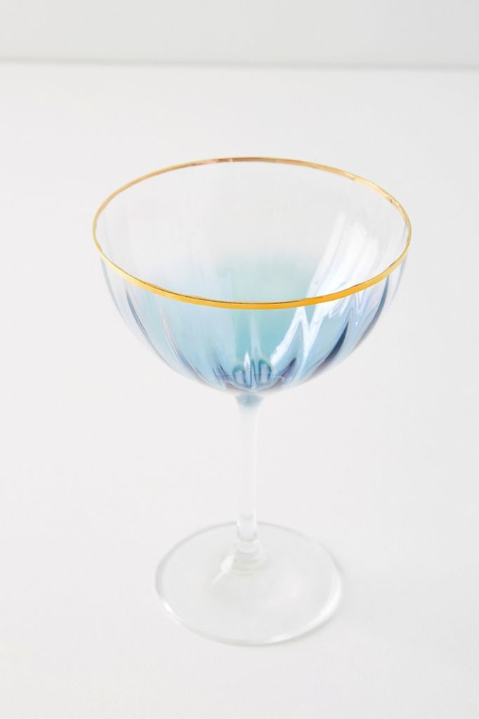 Waterfall Coupe Glasses, Set of 4 $64.00