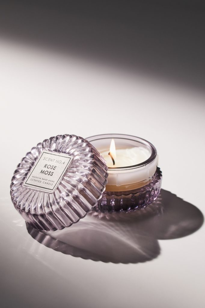 Chloe Mini Glass 2.4 oz Candle $14.00