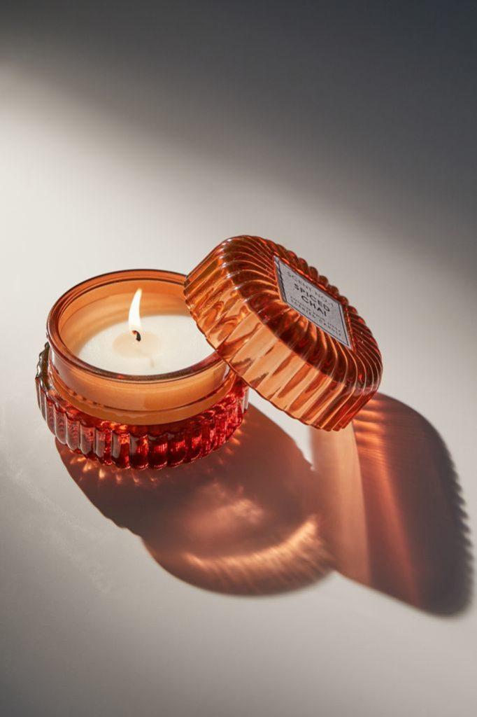 Chloe Mini Glass 2.4 oz Candle $14.00