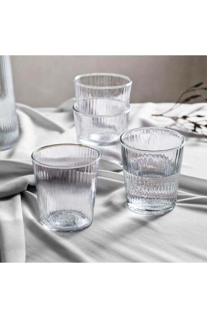 Milford Set of 4 Glass Tumblers $39.00