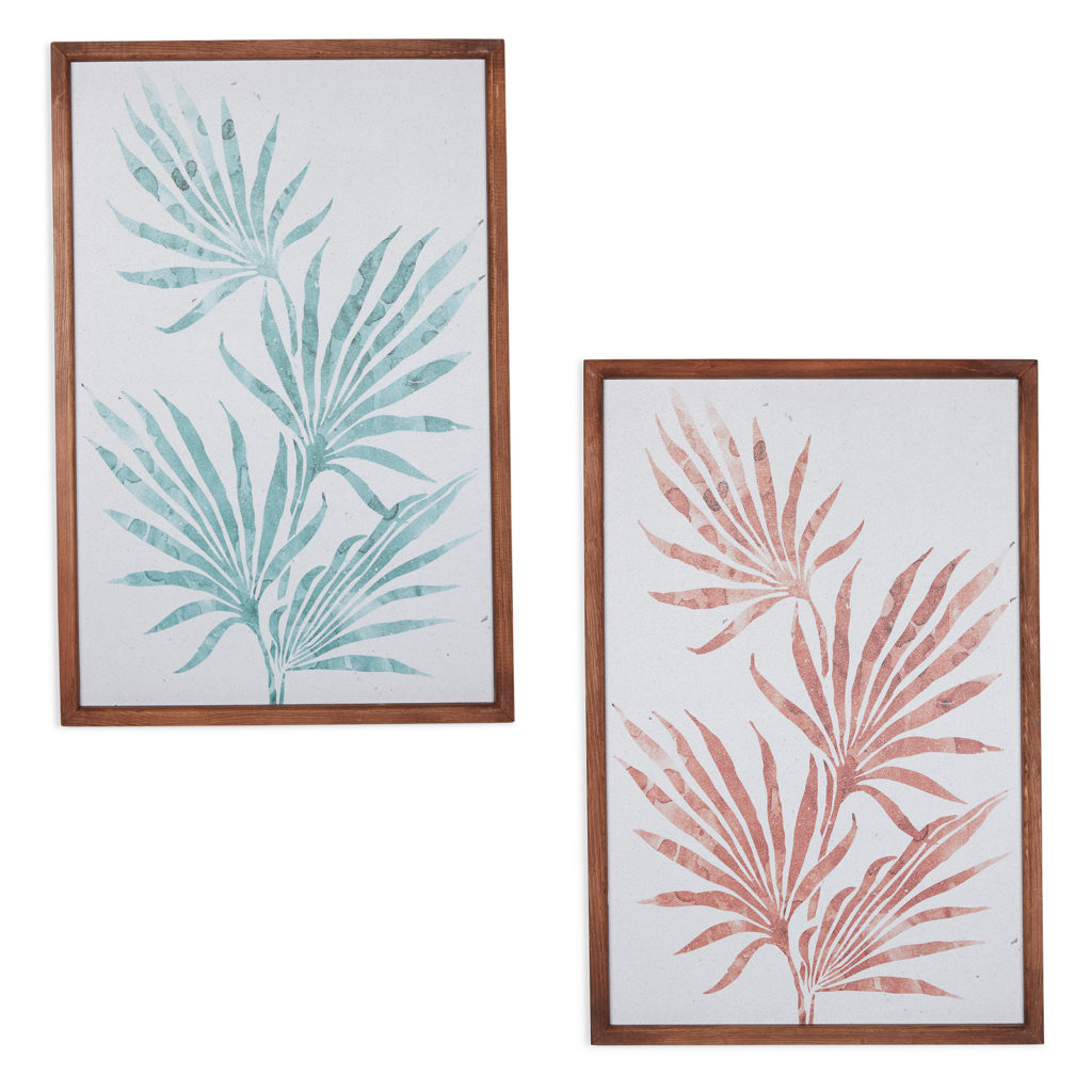 Fronds Wall Art, Set of 2, by Drew Barrymore Flower Home $124.00