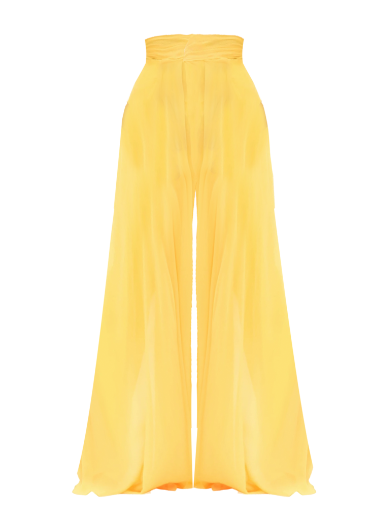 EKON YELLOW PANTS $150