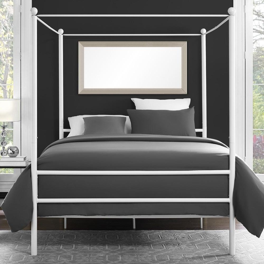 Novogratz Marion Canopy Bed - Grey - Full $176.84