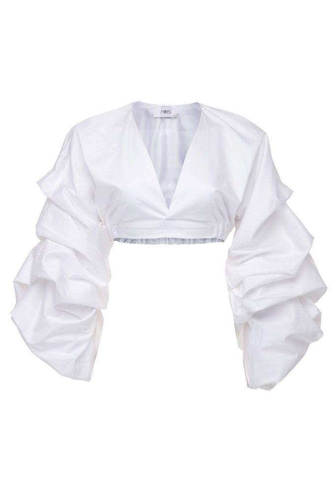 Paradise Ruched Crop Top $ 298.00