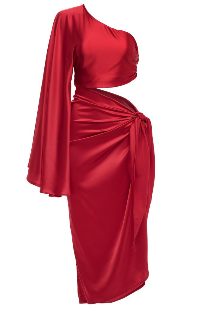 Mace Half Sleeve Tie Dress $ 698.00