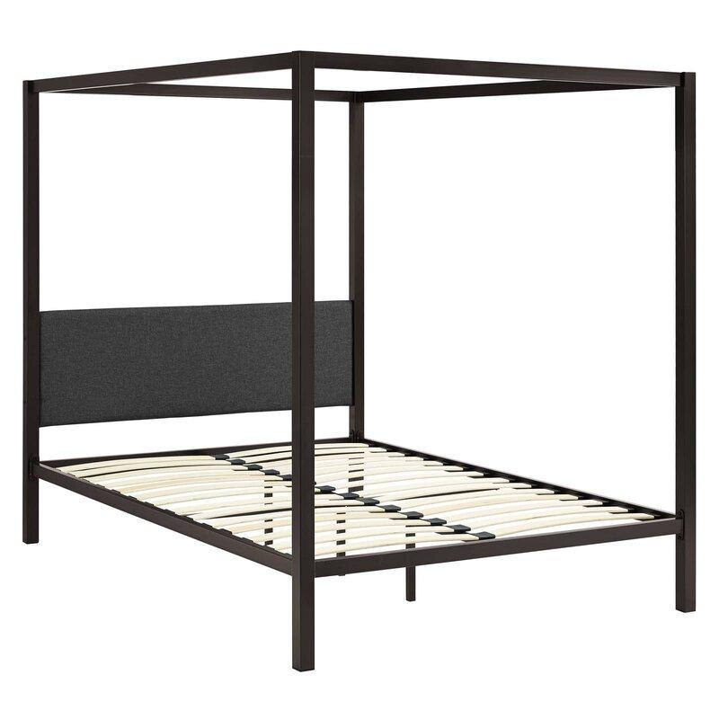 Ferro Queen Canopy Bed $325.99