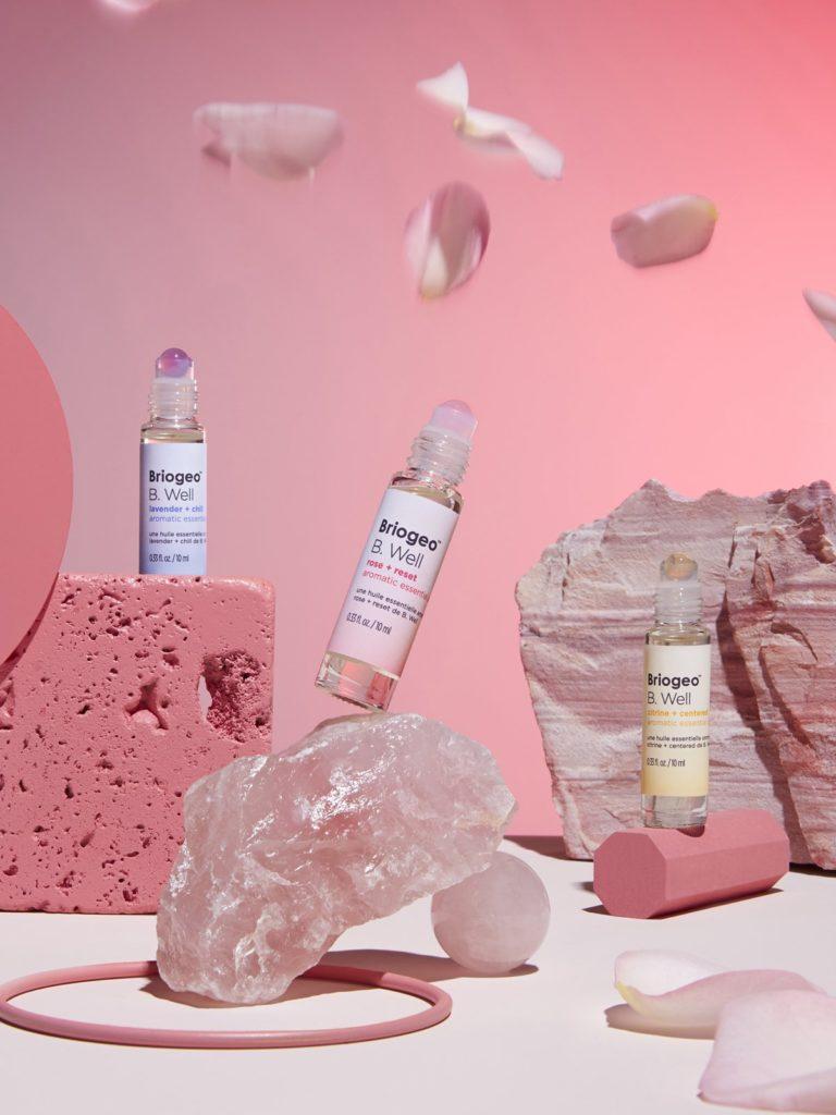 Briogeo + Kathleen Lights B. Well aromatic essential oils kit $38