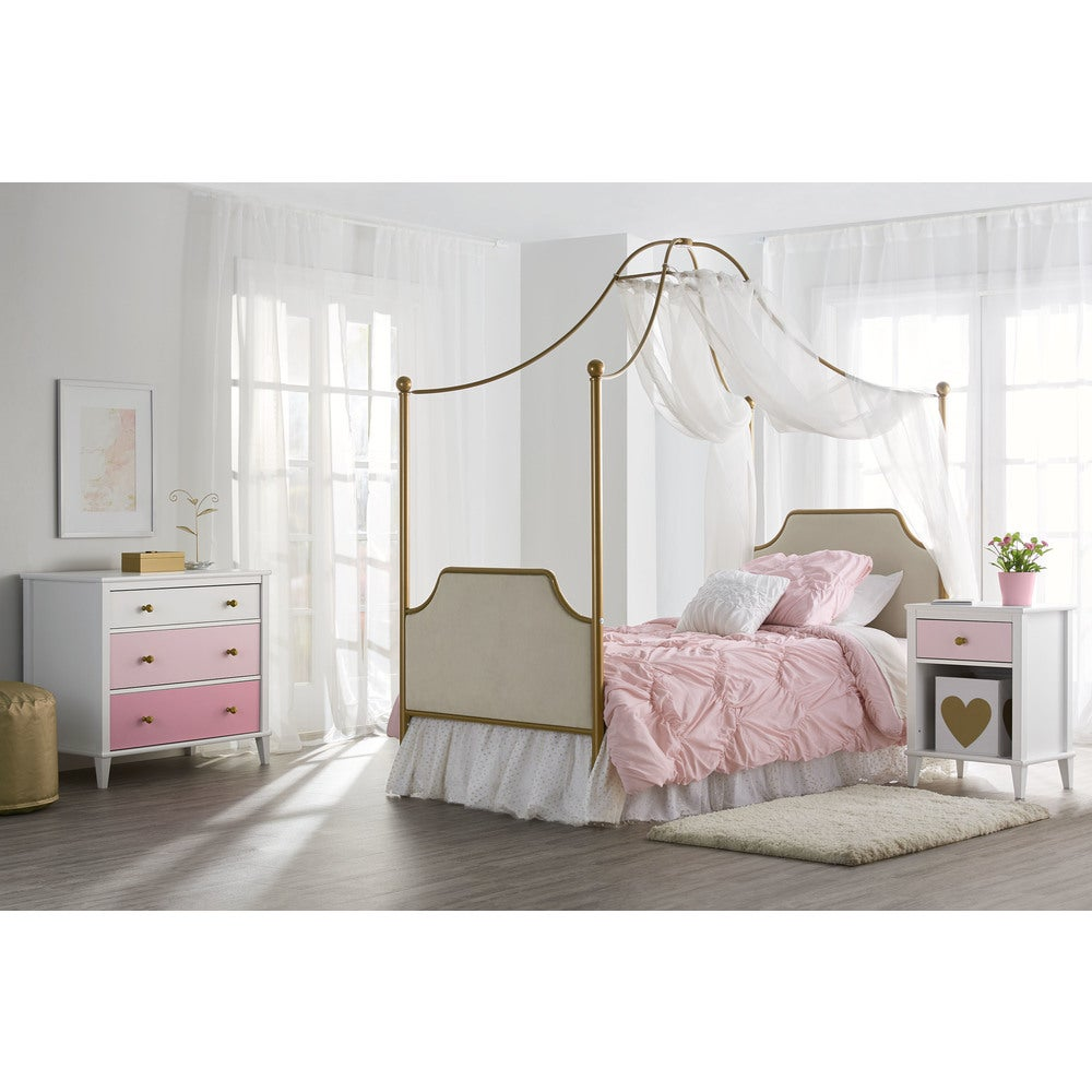Little Seeds Monarch Hill Gold Clementine Canopy Bed $261.44