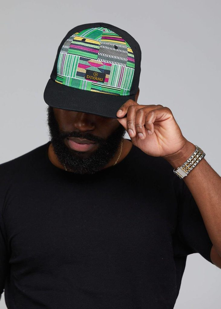 RETH AFRICAN PRINT COLOR-BLOCK HAT $29.99