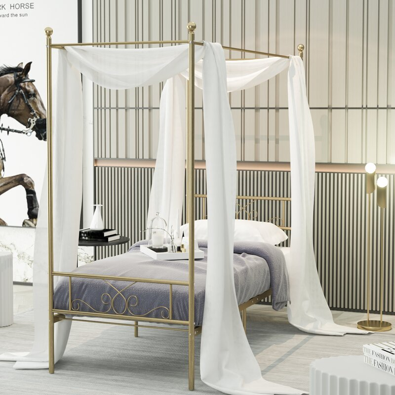 Turkay Canopy Bed $237.66
