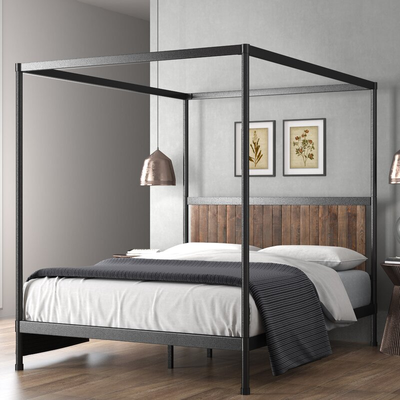 Wesley Canopy Bed $425.99